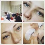 Базовый курс наращивания ресниц, работы студентов - Киев - Студия Beauty Bar