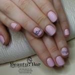 Маникюр с покрытием стойким лаком для юной именинницы - Киев - Студия Beauty Bar