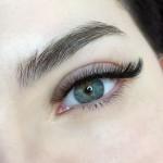 Тройной объём в лисьем эффекте -Наращивание ресниц - Киев - Студия  Beauty Bar