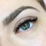 Тройной объём в натуральном эффекте - Наращивание ресниц - Киев - Студия  Beauty Bar